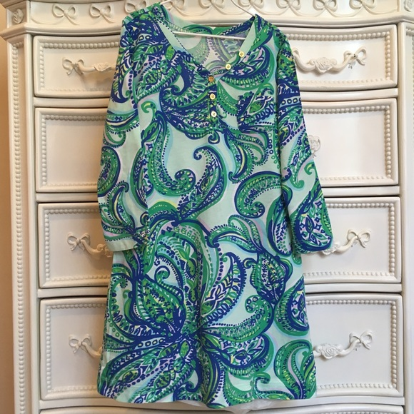 Lilly Pulitzer Other - Lilly Pulitzer Girls paisley dress 8-10